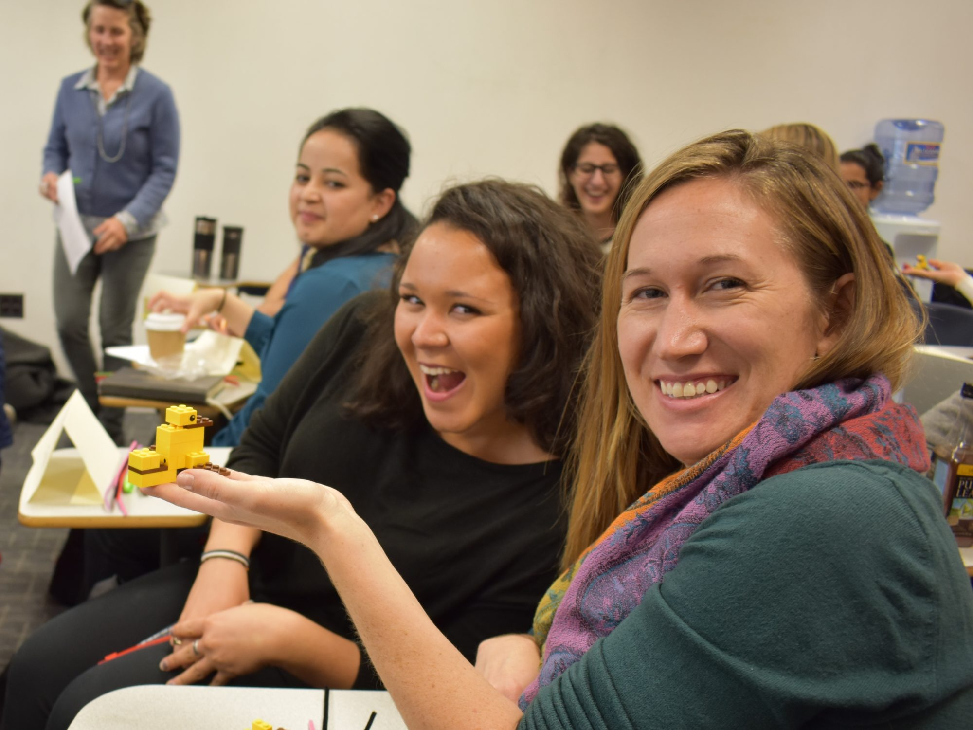 Two GHD Students Having Fun
