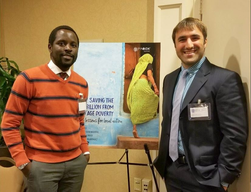 Two GHD Students Attending a Conference